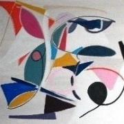 tableau abstrait : Espace