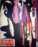 tableau abstrait : Rêve