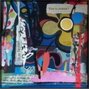 tableau abstrait : Blue Note