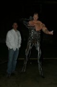 sculpture personnages peurs differences humanite : l autre