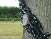 sculpture land art exterieur arbre : osmose végétale