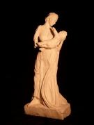 sculpture personnages vierge sculpture enfant : vierge à l'enfant