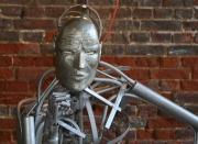 sculpture : Le Penseur