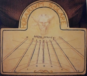 artisanat dart : cadran solaire