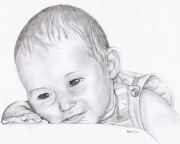 tableau personnages enfant mine grasse tableau : Adrien