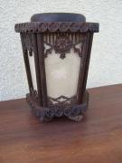 artisanat dart autres lanterne bois sculpture xiveme : Lanterne du XIVème