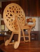 artisanat dart autres sculpture bois rouet : Rouet bélier