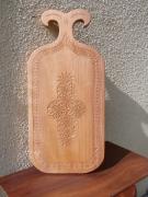 artisanat dart autres ustensile hautesavoie bois planche : Planche de découpe.