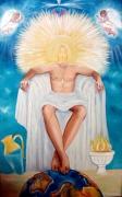tableau : Le Dieu Atlante