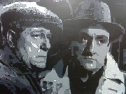 tableau personnages gabin ventura portrait cinema : Gabin-Ventura