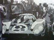tableau autres automobile corvette pescarolo ford : 24 Heures du Mans