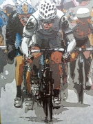 tableau sport tour de france velo cyclisme sprint : Tour de France