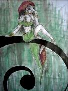 dessin personnages : bohémienne