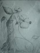 dessin personnages : créature