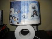 deco design animaux lampe de chambre d pingouin ours polaire : Lampe pour enfant pingouin