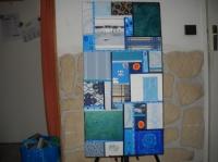 """tableau patchwork """"croisière"""""""