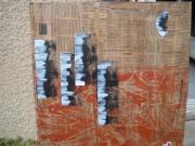 tableau villes tableau technique mi pratique picturale moderne : Tableau collection Extra muros
