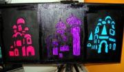 """tableau paysages tableau huile eglises russes vues de nuit : Tableau peinture à l'huile """"Eglises russes"""""""