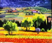 tableau paysages les corbieres paysage france sud : Les Corbières