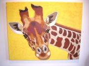tableau animaux afrique girafe animaux nature : girafe