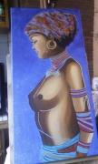 tableau : L'Africaine