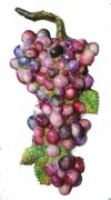 sculpture fruits : grappe 2