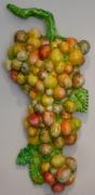sculpture fruits : grappe 7