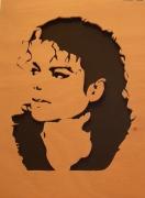 autres personnages michael jackson portrait art : Michael Jackson