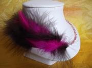 bijoux autres plumes colliers perles : collier plumes de volupté