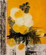 tableau : symphonie jaune