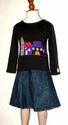 art textile mode villes mode enfant fille village : Mon petit village de ModelUnik 2/3 ans
