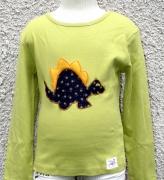 art textile mode animaux dinosaure tshirt enfant colore : Tshirt le petit dinosaure de Modelunik 6 ans