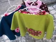 art textile mode animaux poncho manteau textile tissu : Ptit Ponchos
