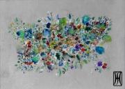 tableau abstrait sur metal covid force de la nature : springvscovid5 le printemps ne se laisse pas confiner