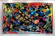 tableau abstrait sur metal richard wagner : Hollondais volant