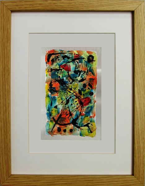 PAINTING tchaikowsky Musique métal Abstrait Peinture a l'huile  - Pas de deux