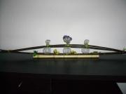 deco design fleurs : Décoration de table