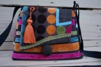 sac à main tissu velours