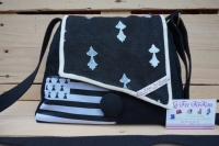 sac à main lin et coton thème Bretagne