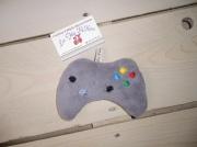 """art textile mode autres doudou original fait en france console de jeux fait main : doudou: """"console de jeux"""""""
