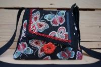 sac à main thème papillon