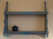 deco design autres etageres bleue bulles decoration : étagère à bulles