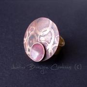"""bijoux bague adeline beaujoin cuivre contemporain : Bague """"La bullée"""""""