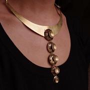 """bijoux collier contemporains adeline beaujoin : Collier """"Poulpe Tâcheté"""""""