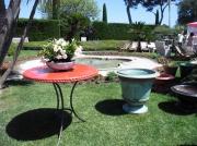 artisanat dart autres atelier de poterie fanjeaux : PLATEAU DE TABLE EN CERAMIQUE