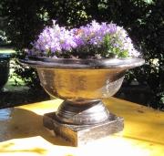 ceramique verre vasques de jardin french planters : COUPE CLASSIQUE PETITE NOIRE