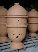 artisanat dart animaux ruche ruche ovoide ruche ideale ruche occitane : RUCHE TERRECUITE