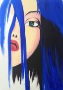 tableau personnages portrait art oeuvre toile : CHLOE