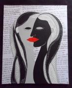 tableau personnages : Le baiser de Louise