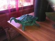 sculpture animaux pont saint esprit gard sculpure metal : la tortue